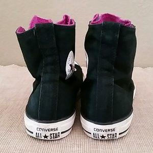 Converse rainbow hi tops sneakers size 4 EUR 36
